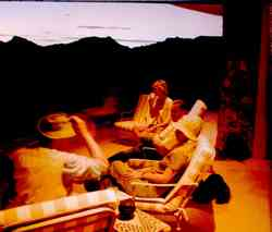 Sossusvlei Mountain Lodqe: Sundowner
